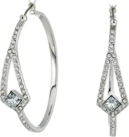 Vince Camuto - Crystal Pave Hoop Earrings