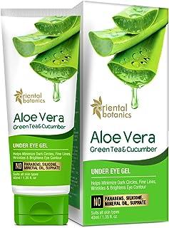 Oriental Botanics Aloe Vera, Green Tea & Cucumber Under Eye Gel, 40 ml (ORBOT56)