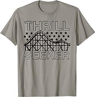 Amusement Park Shirt Thrill Seeker Roller Coaster