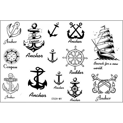 f060ce2aa3f16 SPESTYLE waterproof non-toxic temporary tattoo stickerslatest new design  new release Temporary Tattoo waterproof anchor