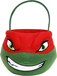 Teenage Mutant Ninja Turtles TMNT Raphael Medium Plush Basket