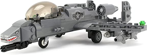 Battle Brick Basic A-10 Warthog Thunderbolt Air Force Custom Set