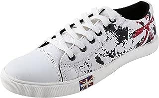 Gubatti Men's White Stylo Casual Shoes