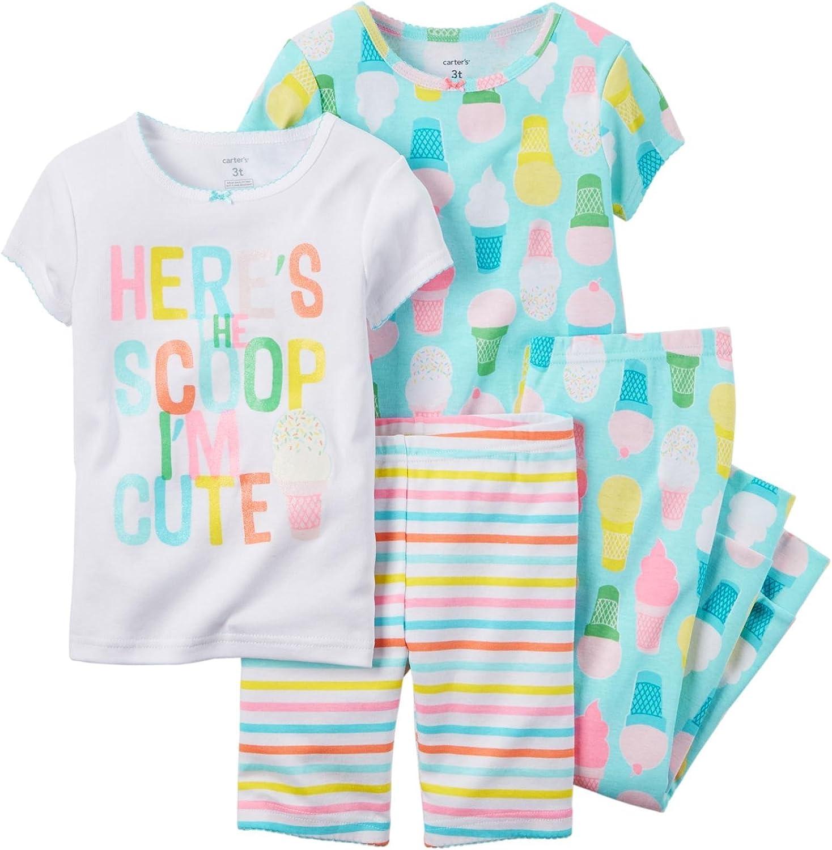 Carter's Baby Girls' 4 Pc Cotton 331g133