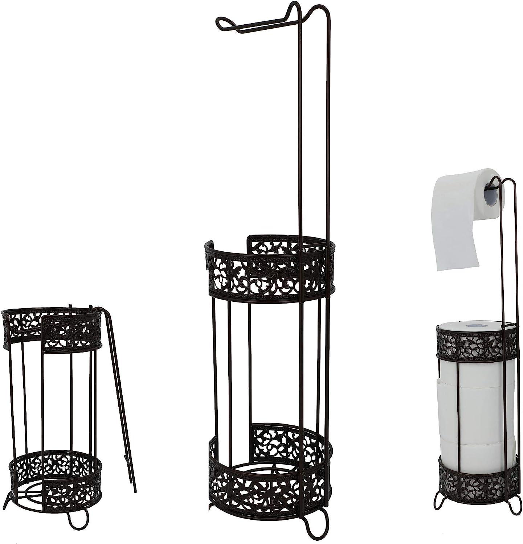 Los Angeles Mall PremiumRacks Vintage Weekly update Toilet Paper Storage Free Holder Standing -