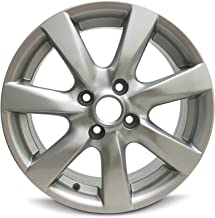 Road Ready Car Wheel For 2012-2016 Nissan Versa 15 Inch 4 Lug Silver Aluminum Rim Fits R15 Tire - Exact OEM Replacement - Full-Size Spare