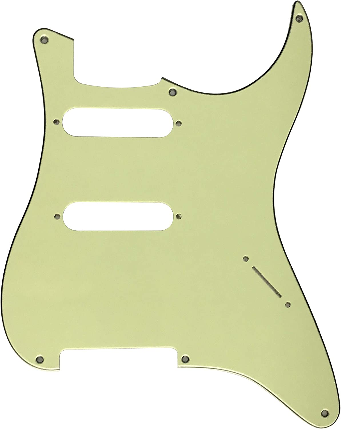 Electric Ranking TOP14 Guitar Pickguard for Super popular specialty store Fender Strat no with pots 6 screw
