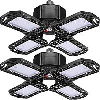 2-Pack Iskydraw 120W LED Garage Lights