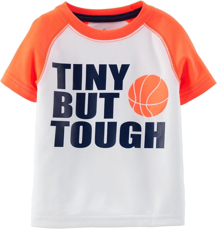 Carter's Baby Boy's Slogan Tee - Tiny But Tough - 9 Months