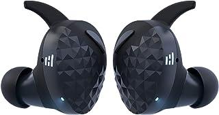 HELM True Wireless Bluetooth 5.0 Headphones, Earbuds, Audiophile HiFi Sound, Qualcomm aptX, Comfort Secure Fit, Sport Swea...