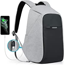 Oscaurt Laptop Backpack, Anti-theft Travel Backpack, Business School Bookbag with USB Charging Port for Men & Women Fit 15...
