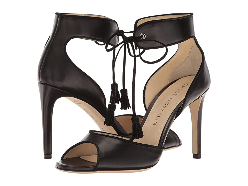 CHLOE GOSSELIN Anemone (Black) High Heels