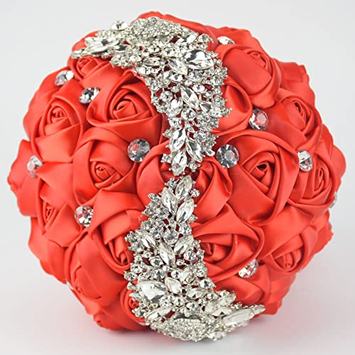 Artificial Flowers For A Bridal Brooch Bouquet Amazon Com