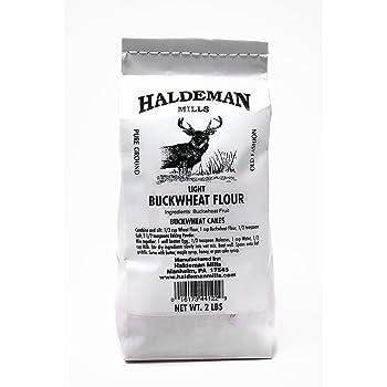 Haldeman Mills Naturally Gluten Free Light Buckwheat Flour, 2 Lb. Package (1 pack)