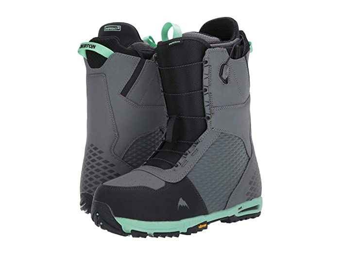 Burton  Imperial Snowboard Boot (Gray/Green) Mens Cold Weather Boots