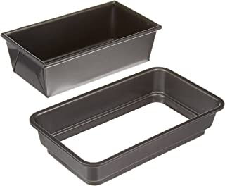 Chicago Metallic Professional Gluten-Free Loaf Pan, 9-inch by 4.25-inch, Silver