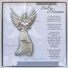 Baby in Heaven, Always an Angel Hanging Metal Bereavement Boxed Memorial Ornament