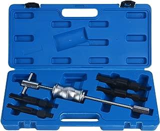 8MILELAKE Blind Inner Bearing Puller Hole Remover Extractor Set Slide Hammer Tool Kit (5 PCS)