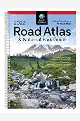 Rand McNally 2022 Road Atlas & National Park Guide (Rand McNally National Park Road Atlas and Travel Guide) Spiral-bound