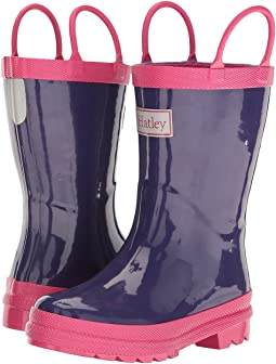 Hatley Kids - Pink & Purple Rain Boots (Toddler/Little Kid)