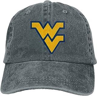 Yuanmeiju West Virginia University Unisex Soft Casquette Cap Vintage Adjustable Gorra de beisbols Gorras de Vaquero