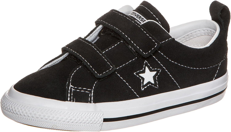Converse Unisex-Child One Star 2v-Ox-Black-K