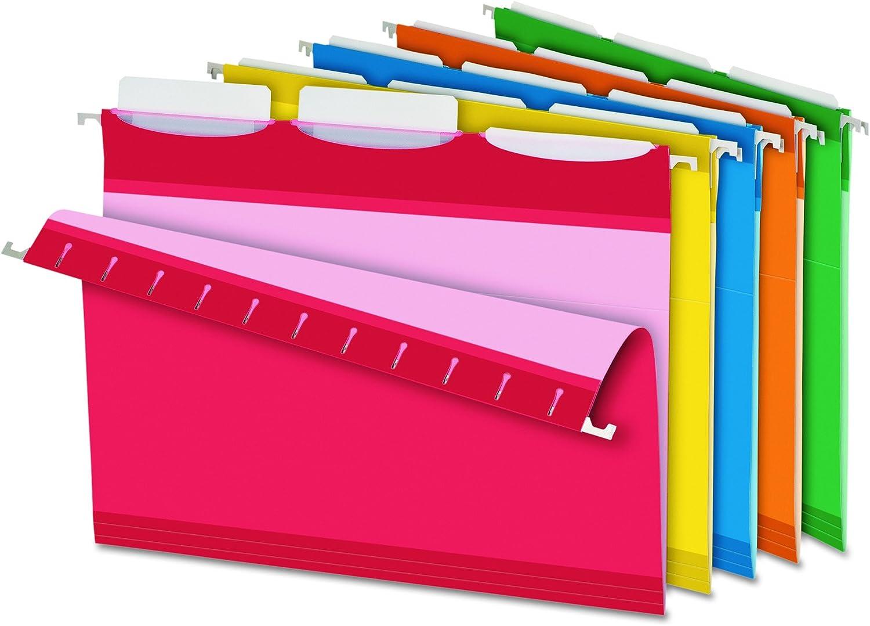marca de lujo Ready-Tab Lift Tab Reinforced Hanging Folders, 1 3 3 3 Tab, Letter, Asst , 25 Box  tienda de venta