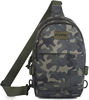 Small Sling Backpack Men Women Casual Daypack Crossbody Bag Travel Hiking Camping