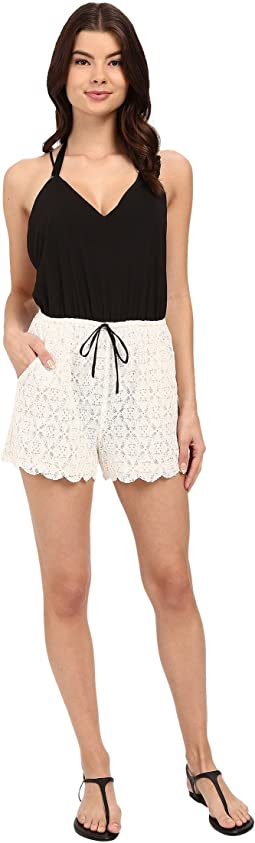 Malay Lace Romper Cover-Up