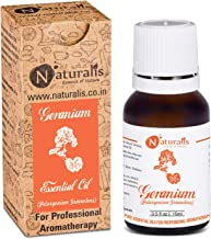 Naturalis Essence of Nature Geranium Essential Oil for Scalp, Glowing Skin, Massage, Relaxation - 15ml
