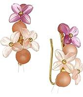 Kate Spade New York - Full Floret Ear Pins Earrings