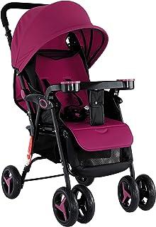 BABY PLUS Stylish Stroller Cum Pram, BP8456-MRN