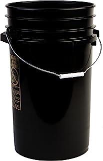 Hudson Exchange Premium 7 Gallon Bucket, HDPE, Black