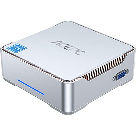 AK3 Mini PC Window 10 Pro Intel Celeron N3350 Processor,4 GB RAM/64GB ROM Mini Computer,2.4G & 5.0G WiFi, 4K 60Hz,Dual Band Wi-Fi, Bluetooth 4.2