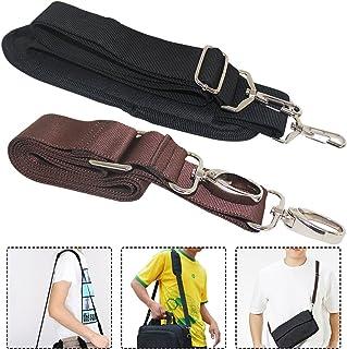 """2 Packs Universal Shoulder Straps, AFUNTA 57"""" 59"""" Adjustable Bag Belts with Metal Swivel Hooks for Luggage Duffel Bag Lapt..."""