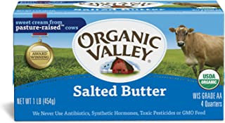 Organic Valley, Organic Salted Butter - 1 lb