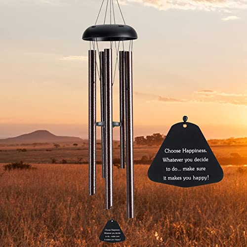 wholesale Wind Chimes for Outside Deep Tone, BENBOR 36 Inch Large Metal Wind Chimes Outdoor Large Deep Tone with 5 Metal outlet sale Tubes Deliver Soft outlet online sale Melody, Tuned Wind Chimes for Garden Balcony Patio and Home Décor sale
