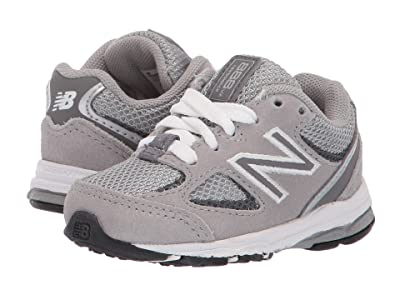 New Balance Kids IK888v2 (Infant/Toddler) (Grey/Grey) Boys Shoes