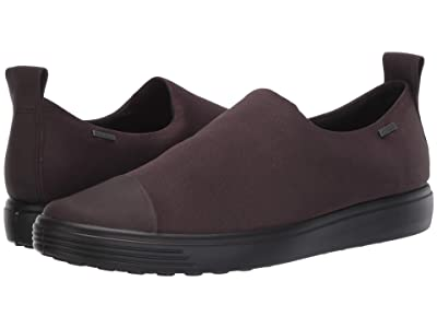 ECCO Soft 7 GTX Slip-On (Shale/Shale Cow Leather/Textile) Women