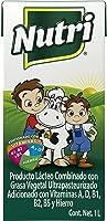 Nutrileche Producto Lácteo, 1 litro. Paquete de 12