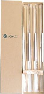 [Laveis]盛付箸3膳組 日本製 孟宗竹製 大分県産 28cm 弁当盛付 料理 盛付しやすい 細い 使いやすい プロ仕様 料理人愛用 おはし 箸