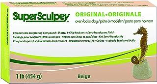 Sculpey Super Clay, 1lbs./454g, Beige/Flesh