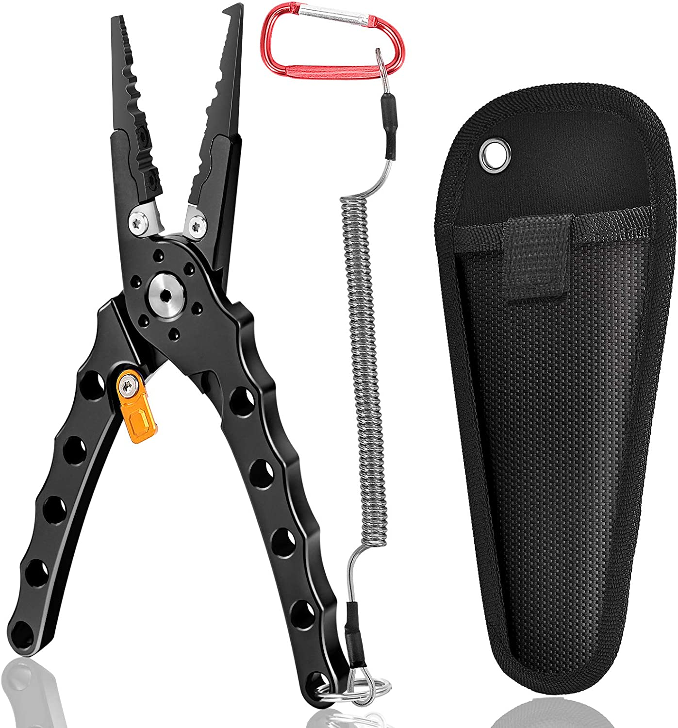 Discount is also underway FISHARE Aluminum Fishing Pliers Fish Weighing with Lip At the price Gripper