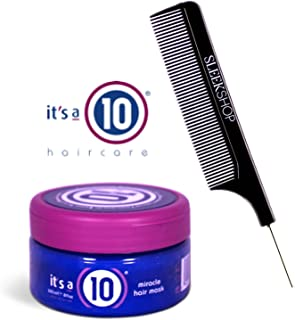 It's a 10 Ten - Miracle Hair Mask (with Sleek Steel Pin Tail Comb) (Original, 8 oz)