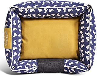 Ai-le Perfect Design Cotton Canvas Kennel Cat Kennel Obliterable and Washable Teddy Little and Medium-sized Dog Double-sid...