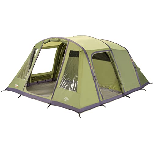 5ef595f598398 Vango Odyssey Inflatable Family Tunnel Tent, Epsom Green, Airbeam 600