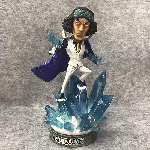 FKYGDQ Anime Piraten Marine DREI Statuen des Charakters Modell H  21,5cm Spielzeugstatue