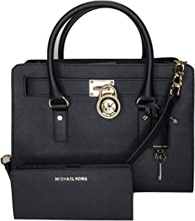 Best michael kors black purse with gold lock Reviews