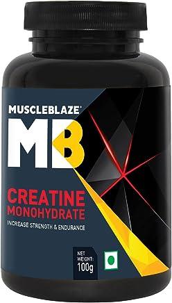 MuscleBlaze Creatine Monohydrate Powder, 100 g