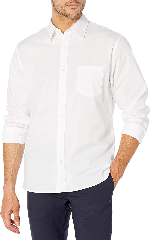 Van Heusen Men's Never Tuck Long Sleeve Al Very popular! sold out. Button Down Shirt